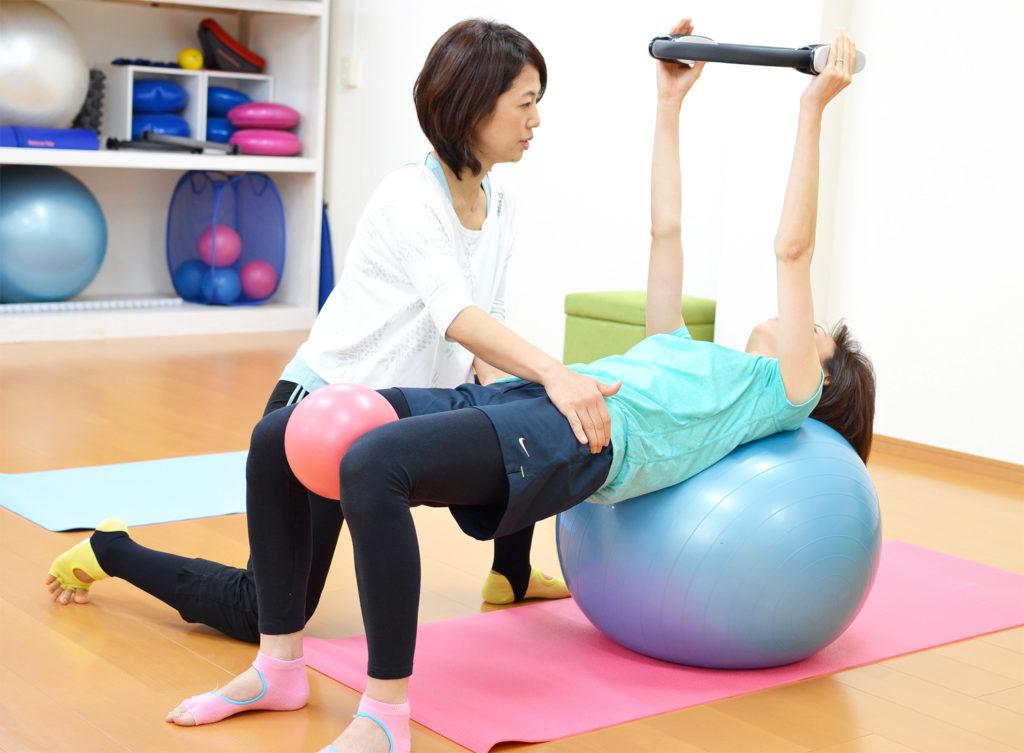 ピラトレで身体の使い方と筋肉を鍛える